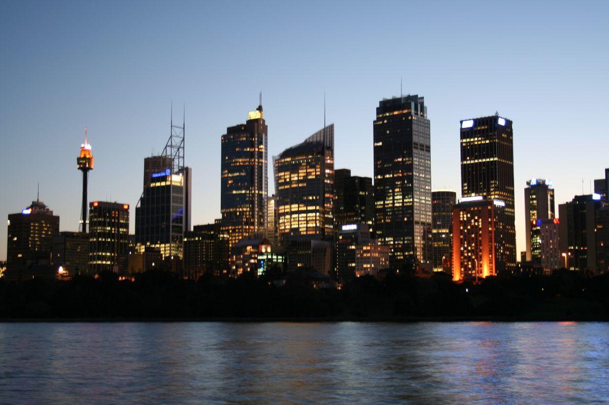 sydney skyscrapers city