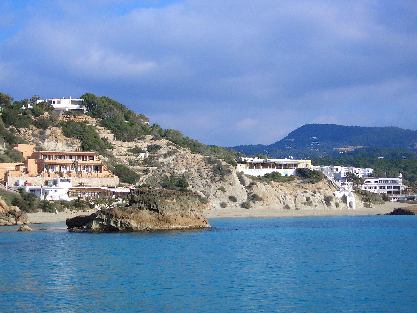coastline of ibiza