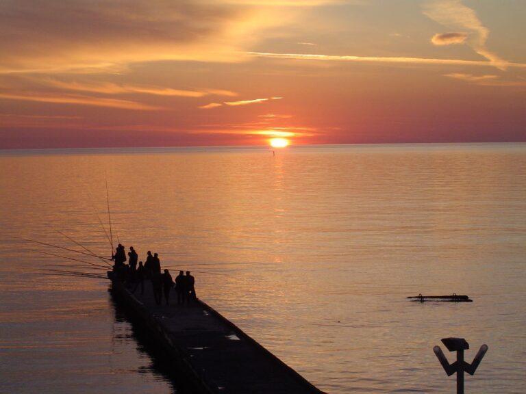 Sochi Russia Black Sea at sunset