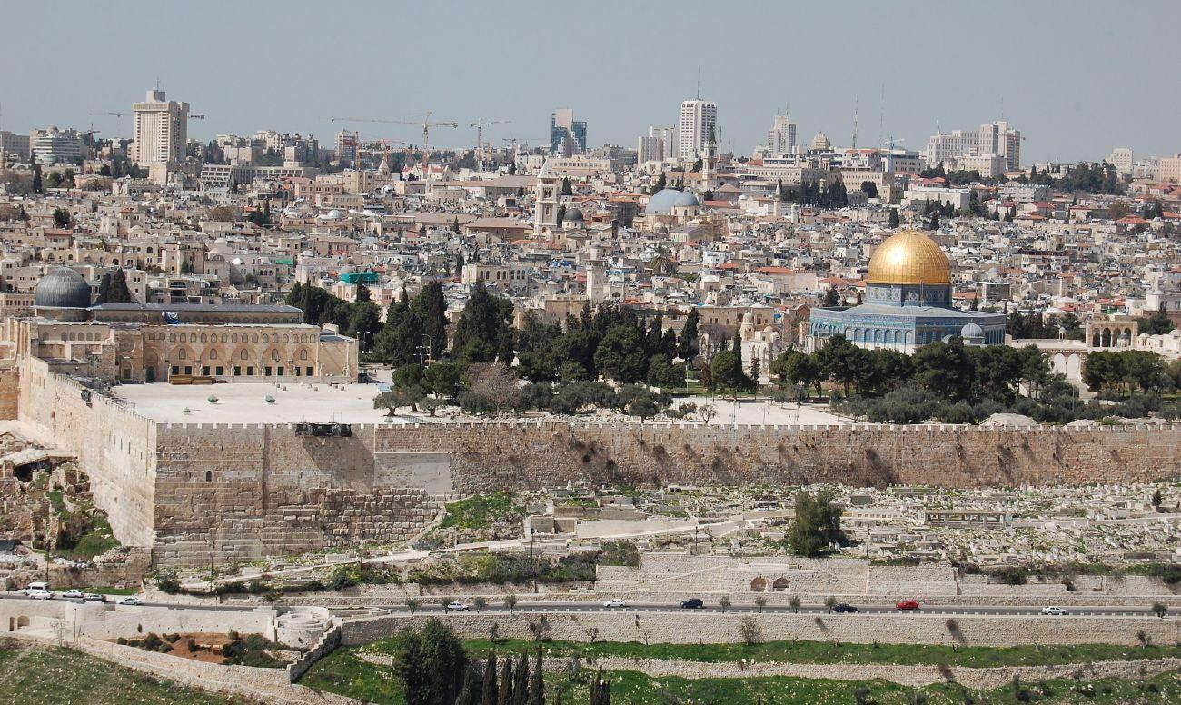 jerusalem israel panoramic view