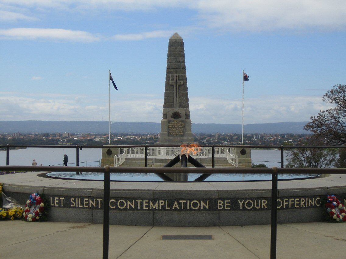 kings park war memorial perth australia