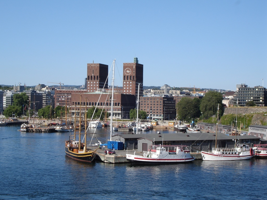 downtown of oslo