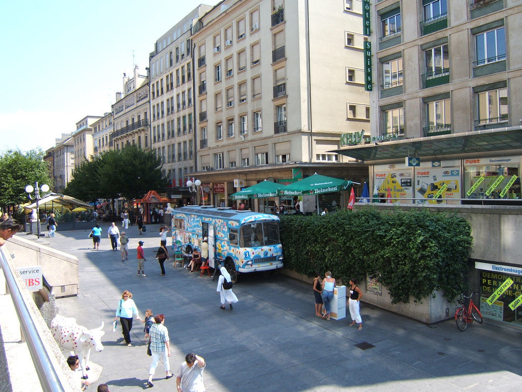 street of geneva switzerland