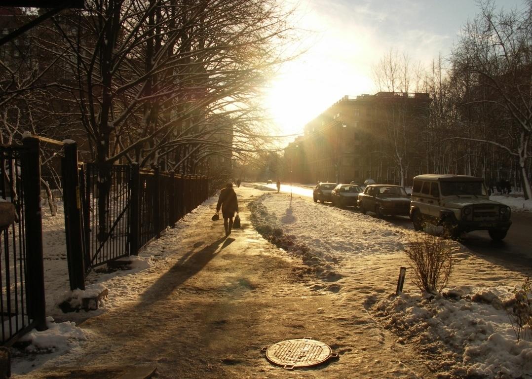 St. Petersburg in the winter