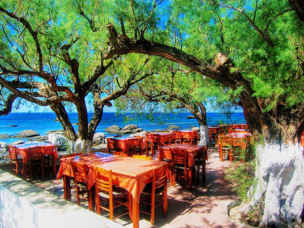 great weather in greece