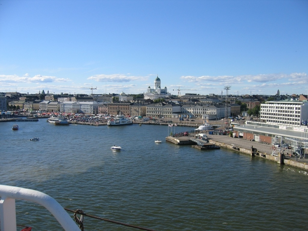 Panoramic view Helsinki Finland