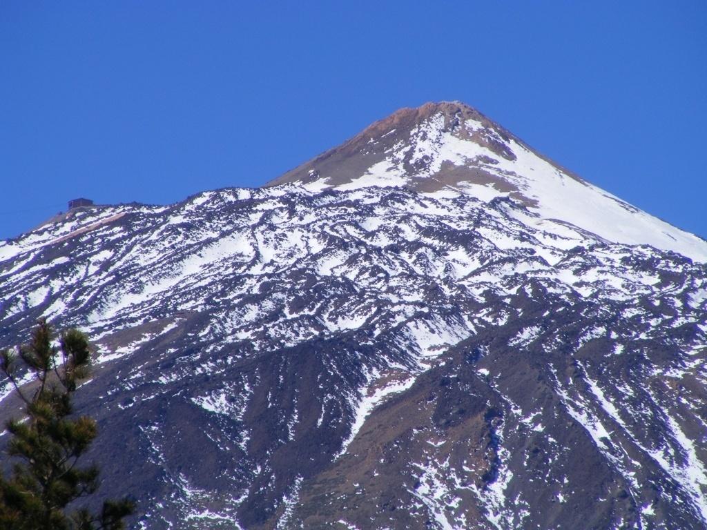 teide the highest peak of spain