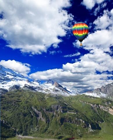 alpine region
