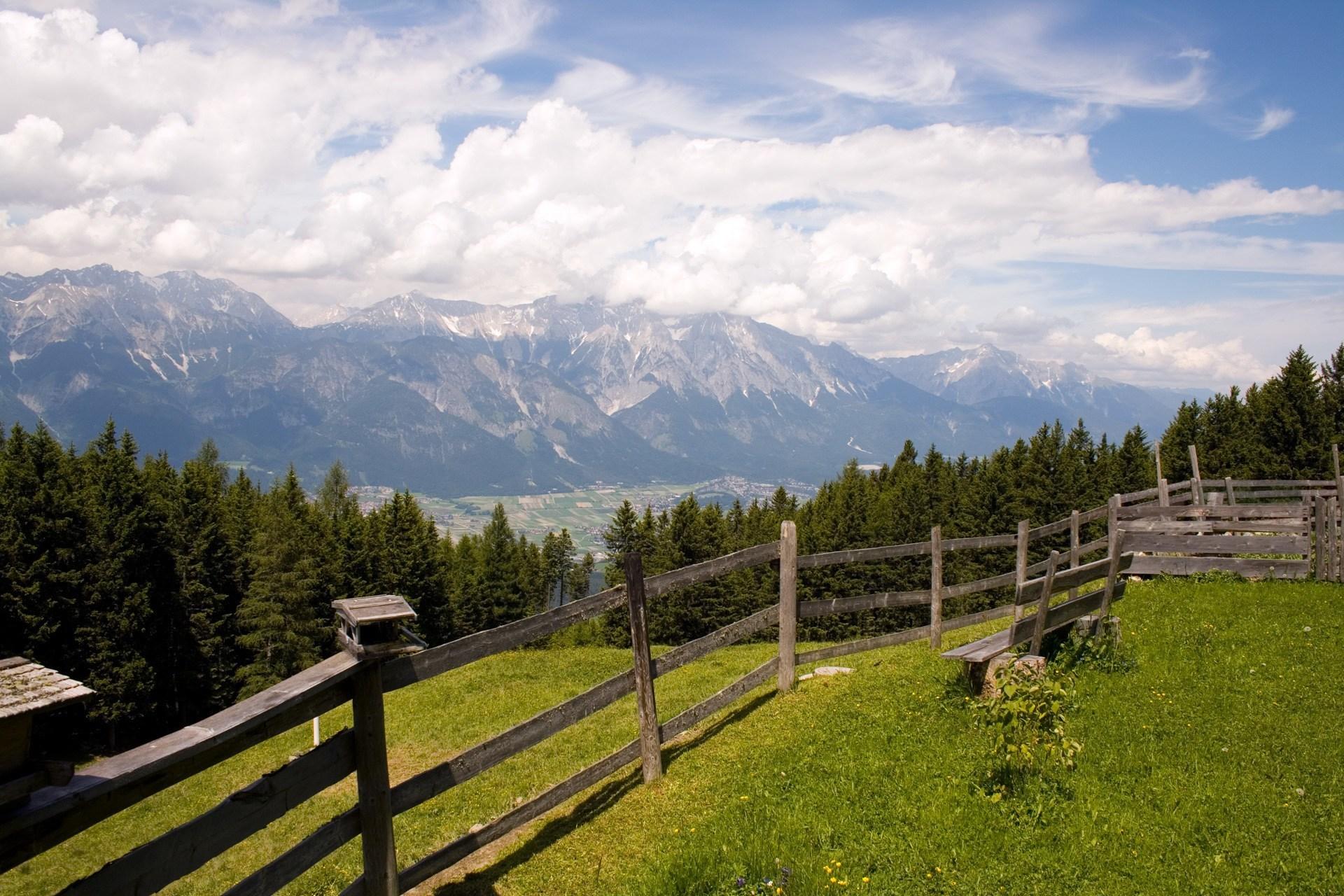 alps panoramic view