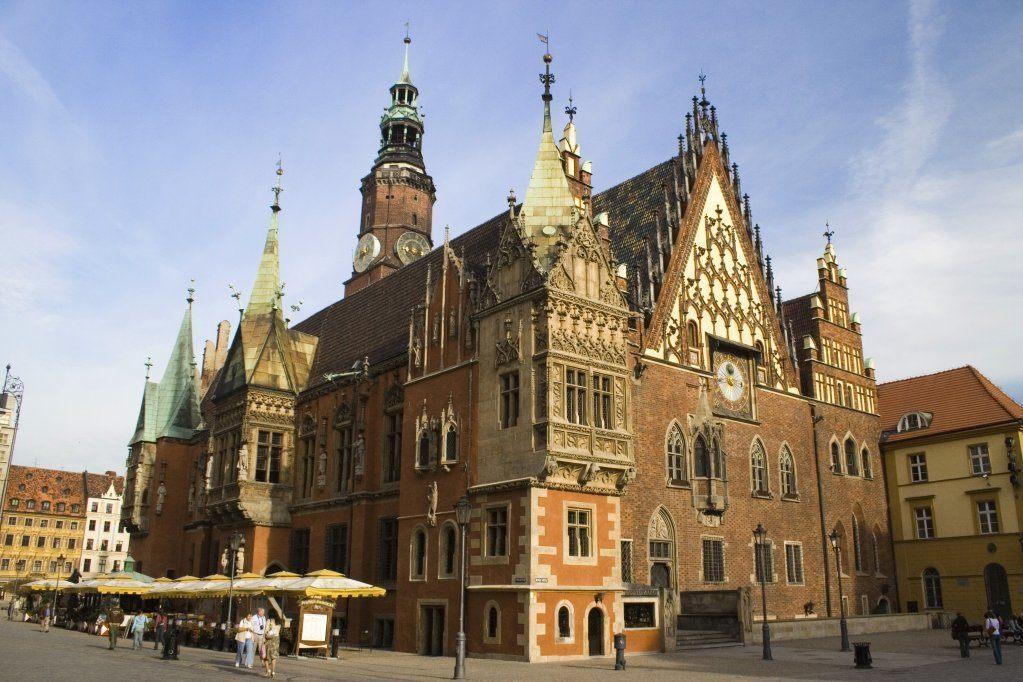 wroclaw poland architecture