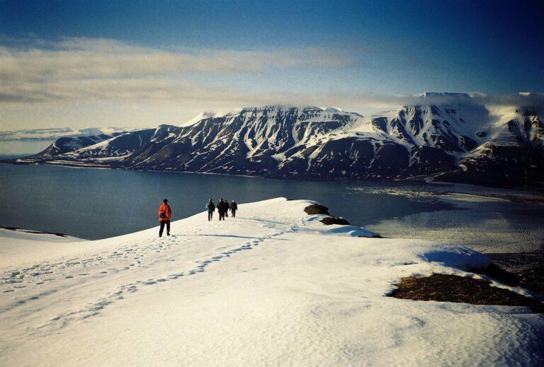 svalbard panoramic view