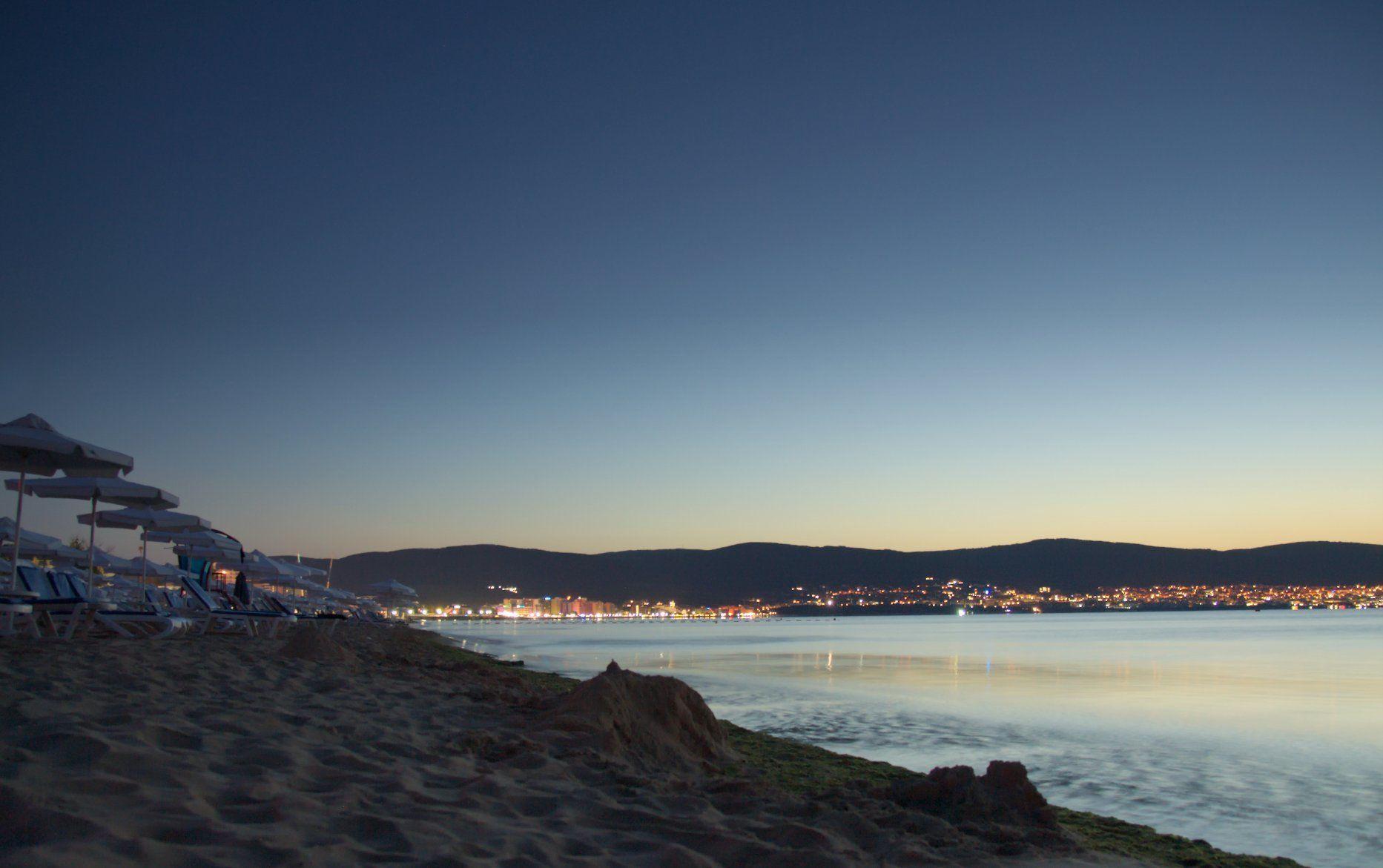 sunny beach coast bulgaria
