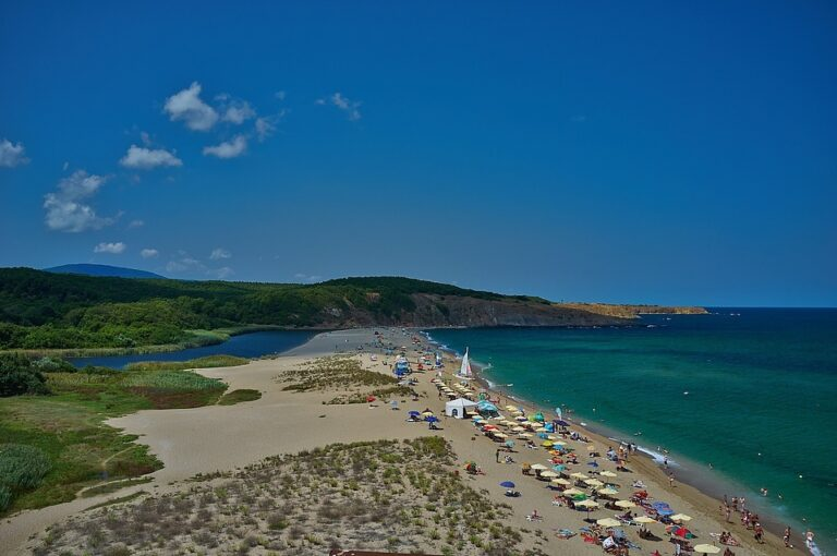Kosa beach near Sinemorets