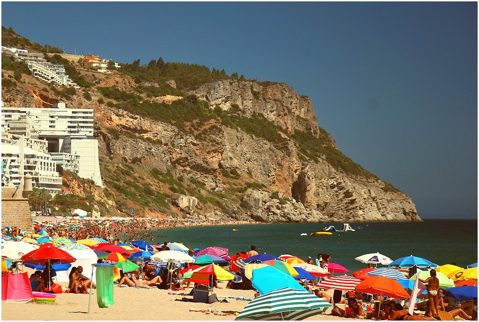 Beach of Sesimbra and Portinho