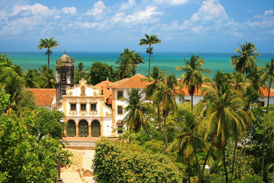 The old town of Olinda, Pernambuco