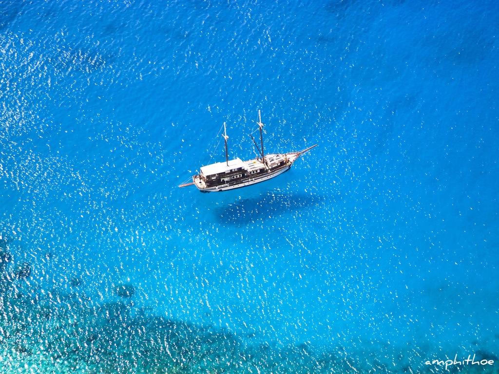 Amorgos Island limpid blue