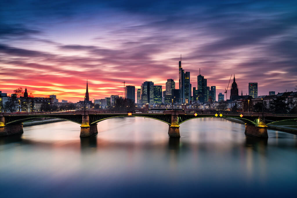 the city of frankfurt