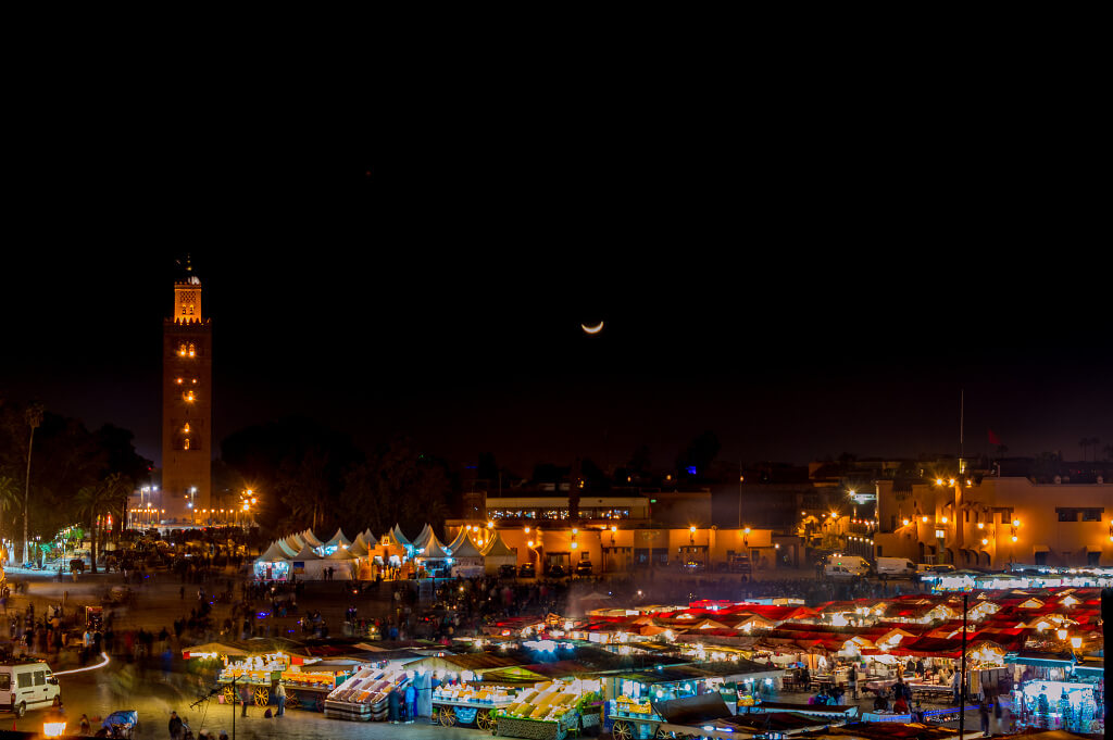 marrakech at night