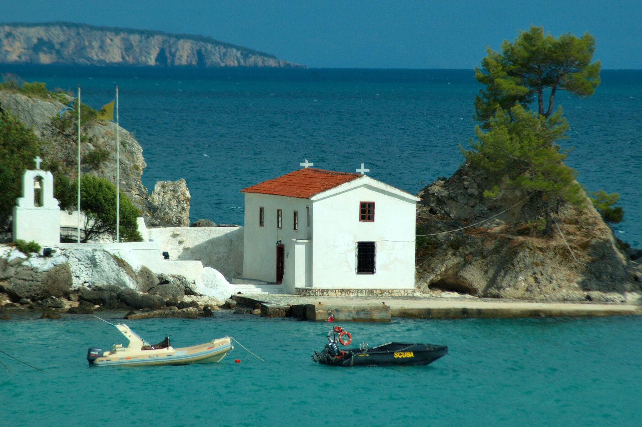 the chapel of panagia island